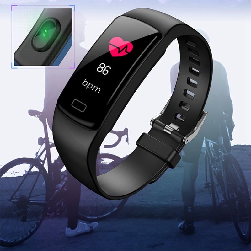 Banda-de-Rastreador-de-Actividad-Inteligente-Y9-Pulsera-de-Fitness-Monitor-d-1U6 miniatura 4