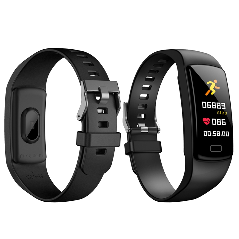 Banda-de-Rastreador-de-Actividad-Inteligente-Y9-Pulsera-de-Fitness-Monitor-d-1U6 miniatura 29