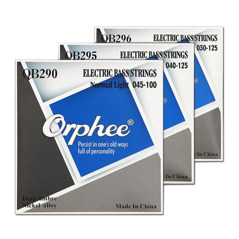 Orphee-Cordes-De-Basses-Electriques-Serie-Qb-4-Cordes-Pieces-De-Basse-Electr-5Q1 miniature 7