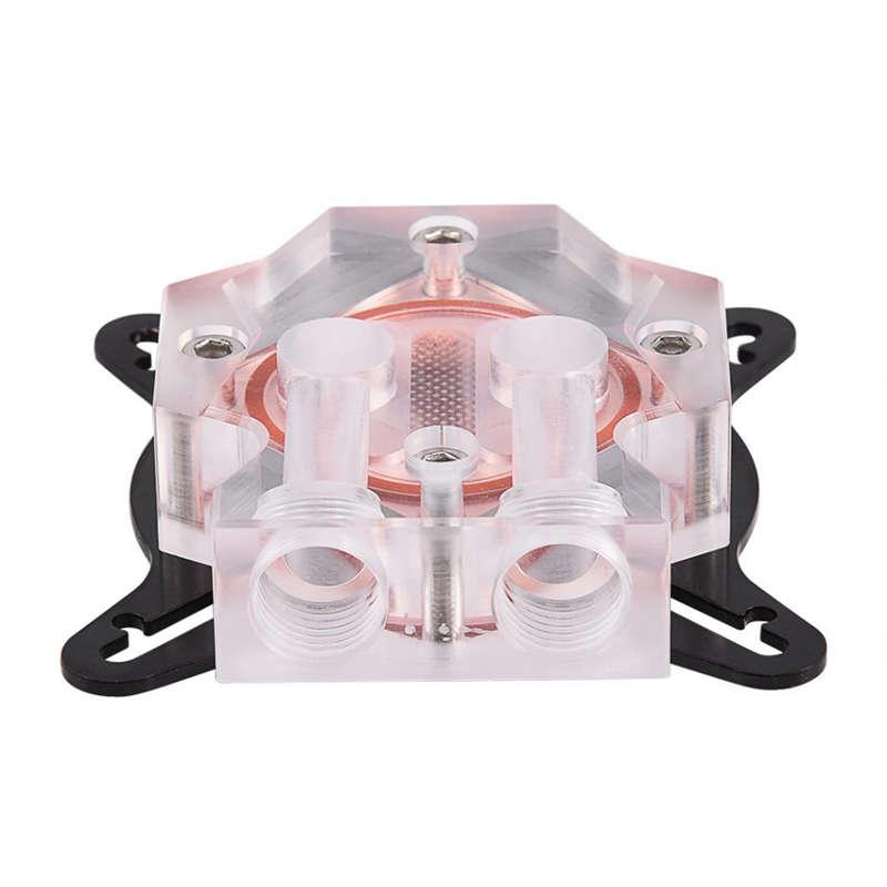 Bloque-Enfriador-De-Agua-Gpu-Sistema-De-Enfriamiento-Universal-Bloque-De-Ag-H3N6 miniatura 4