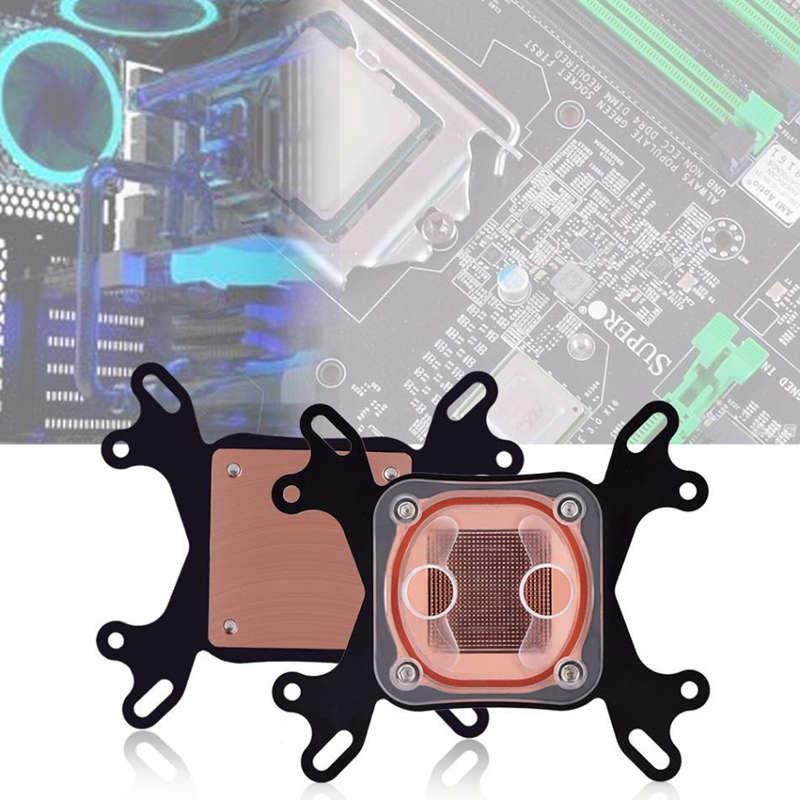 Bloque-De-Enfriamiento-De-Agua-De-CPU-Universal-Sistema-De-Enfriamiento-De-L1U1 miniatura 7