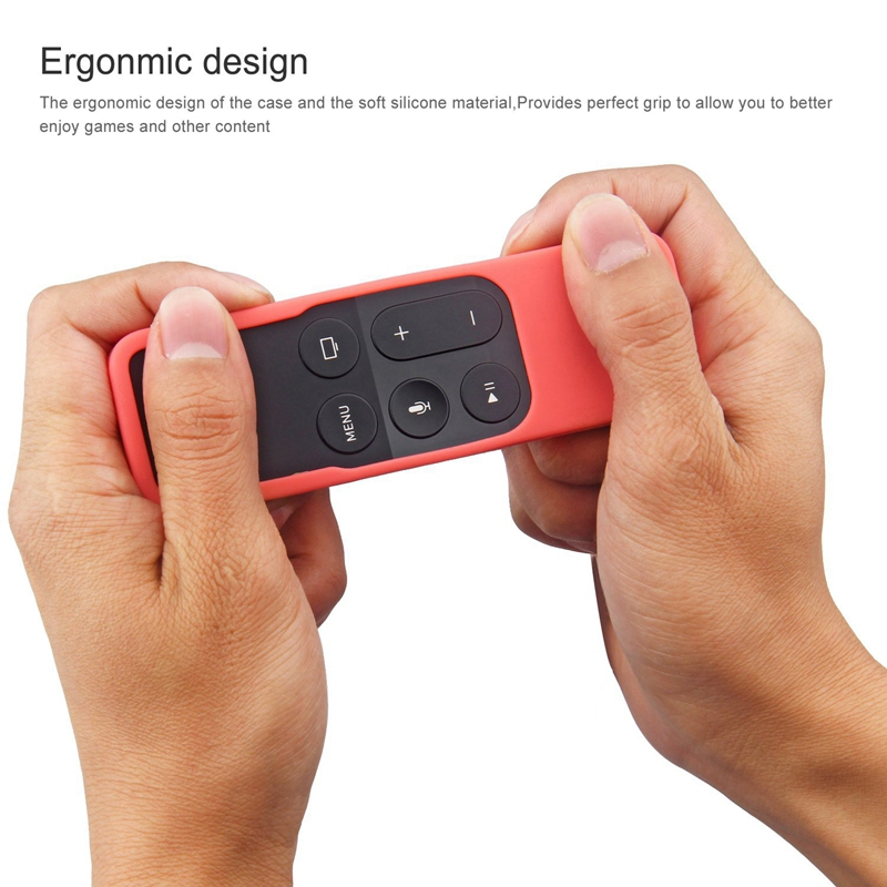 Caja-Apta-de-Silicona-Para-Apple-TV-4-Bolsa-de-Cubierta-Protectora-de-Contr-R8V2 miniatura 8