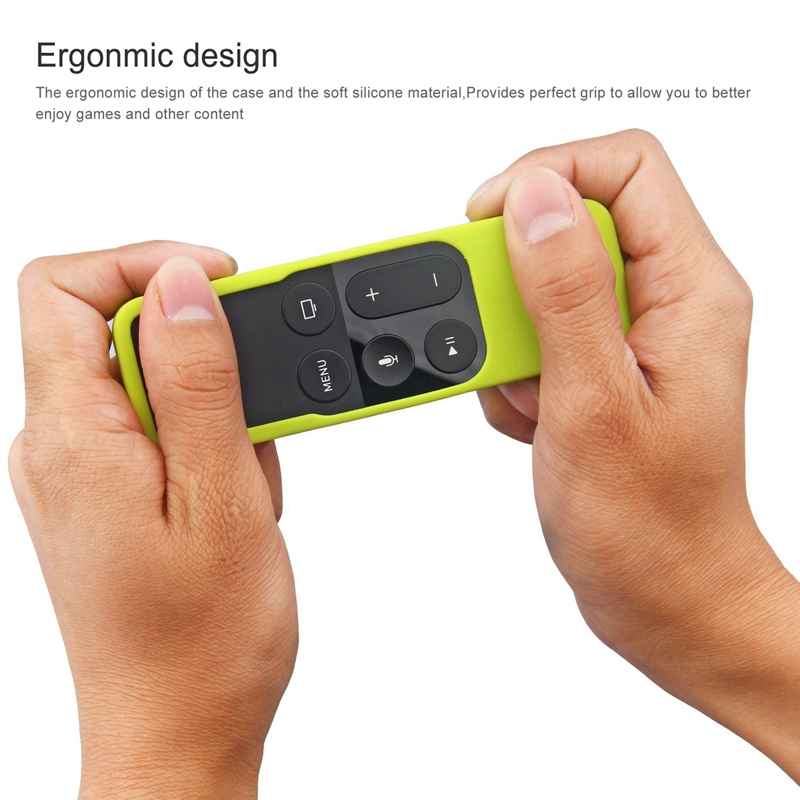 Caja-Apta-de-Silicona-Para-Apple-TV-4-Bolsa-de-Cubierta-Protectora-de-Contr-R8V2 miniatura 13