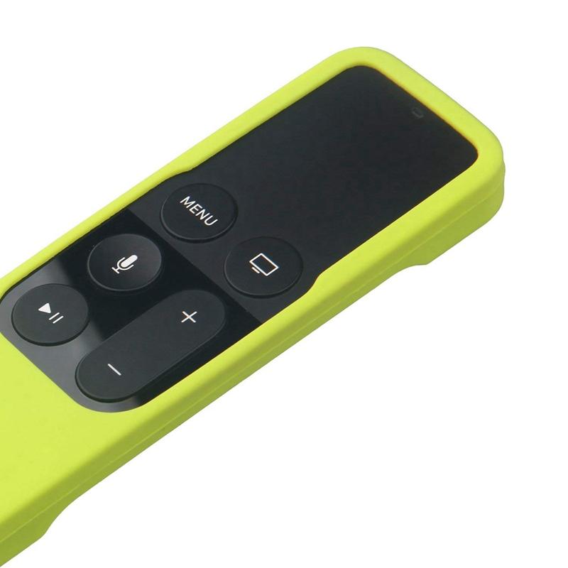 Caja-Apta-de-Silicona-Para-Apple-TV-4-Bolsa-de-Cubierta-Protectora-de-Contr-R8V2 miniatura 14