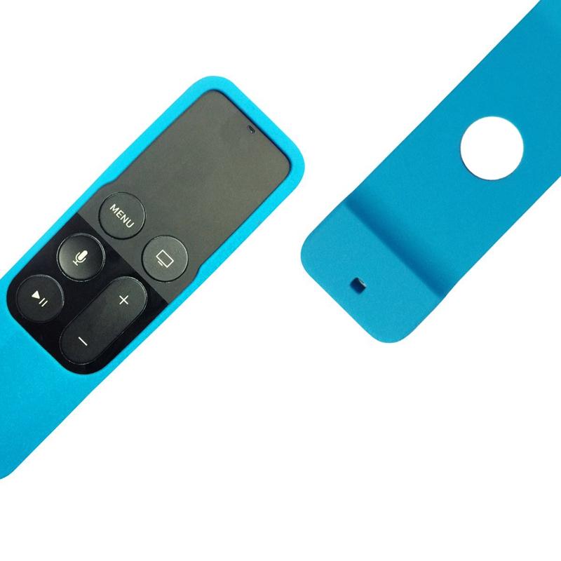 Caja-Apta-de-Silicona-Para-Apple-TV-4-Bolsa-de-Cubierta-Protectora-de-Contr-R8V2 miniatura 17