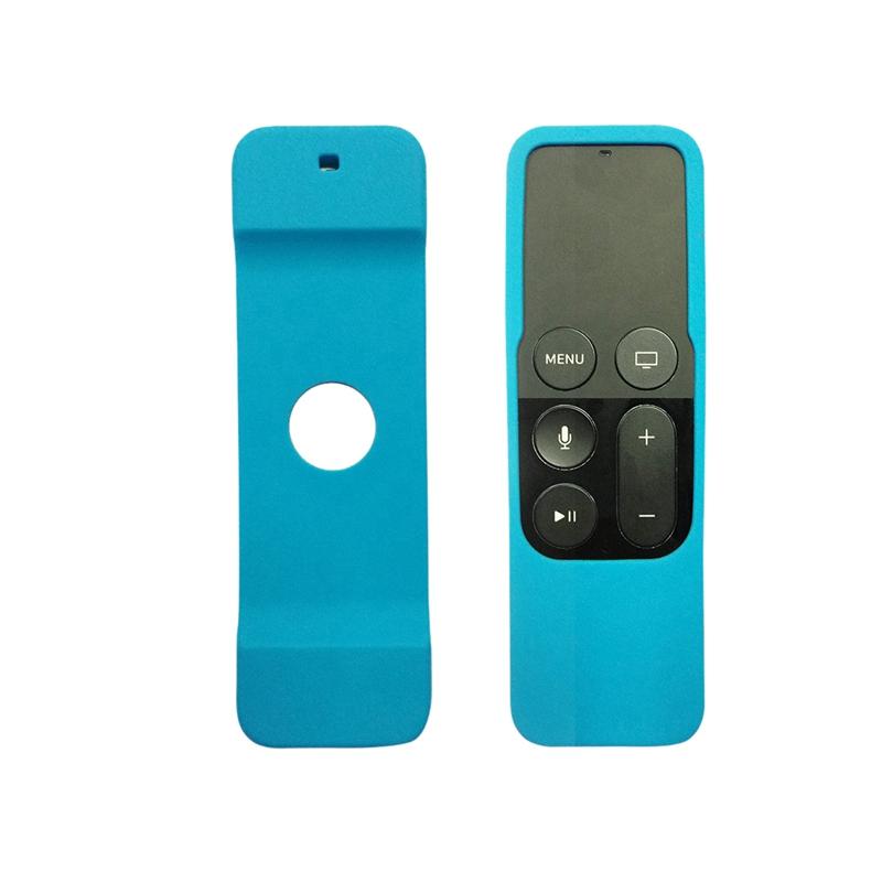 Caja-Apta-de-Silicona-Para-Apple-TV-4-Bolsa-de-Cubierta-Protectora-de-Contr-R8V2 miniatura 18