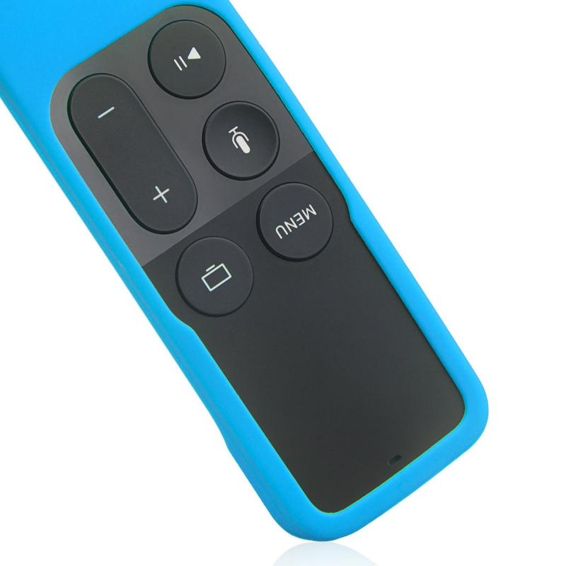 Caja-Apta-de-Silicona-Para-Apple-TV-4-Bolsa-de-Cubierta-Protectora-de-Contr-R8V2 miniatura 22