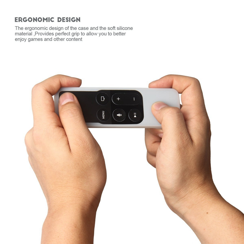 Caja-Apta-de-Silicona-Para-Apple-TV-4-Bolsa-de-Cubierta-Protectora-de-Contr-R8V2 miniatura 25