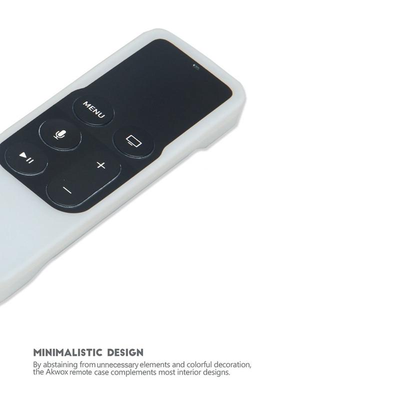 Caja-Apta-de-Silicona-Para-Apple-TV-4-Bolsa-de-Cubierta-Protectora-de-Contr-R8V2 miniatura 29