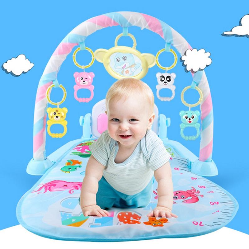 2X-Baby-Activity-Gym-Children-039-s-Play-Mat-0-12-Months-Developing-Carpet-Soft-V6 thumbnail 3