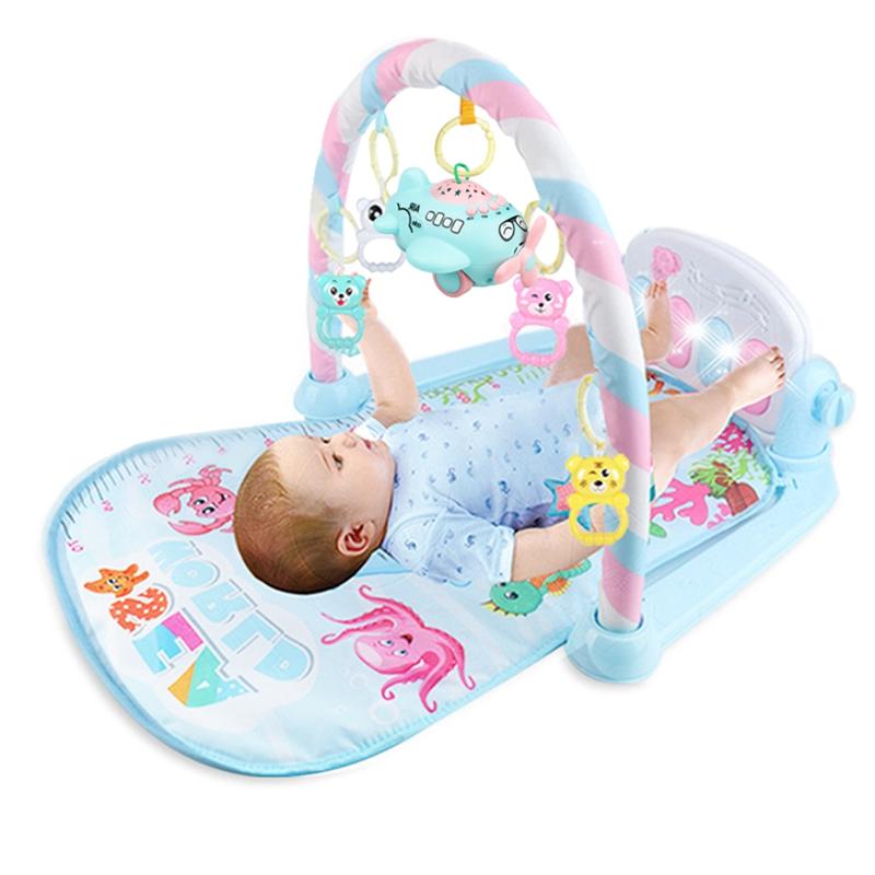 2X-Baby-Activity-Gym-Children-039-s-Play-Mat-0-12-Months-Developing-Carpet-Soft-V6 thumbnail 4