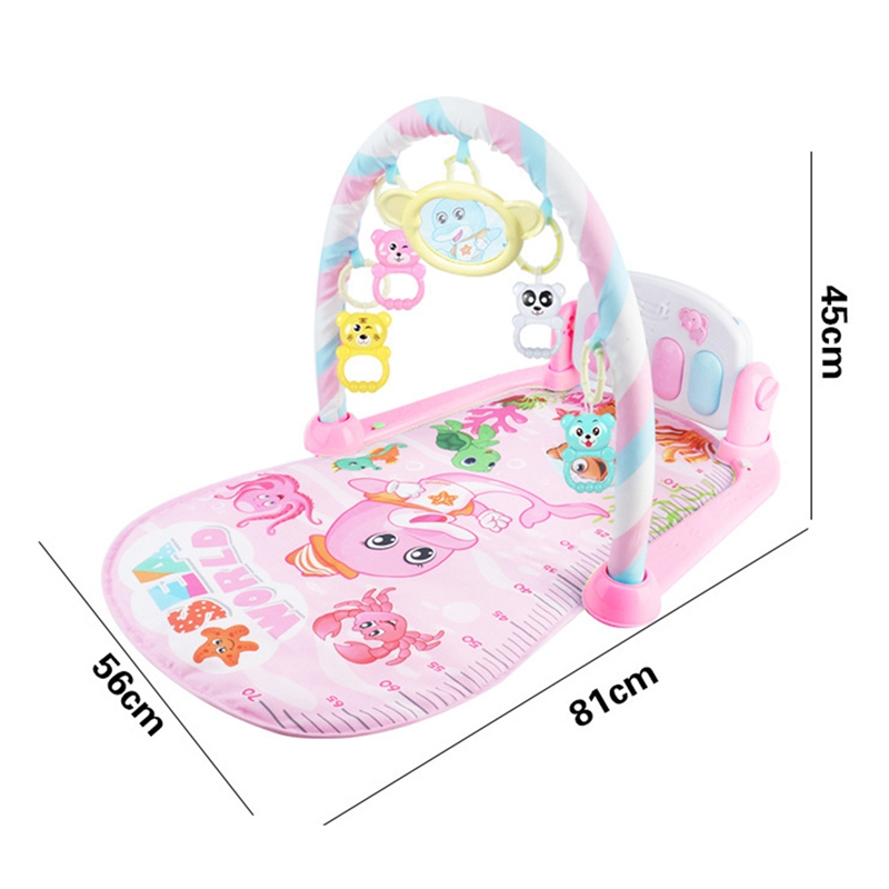2X-Baby-Activity-Gym-Children-039-s-Play-Mat-0-12-Months-Developing-Carpet-Soft-V6 thumbnail 7