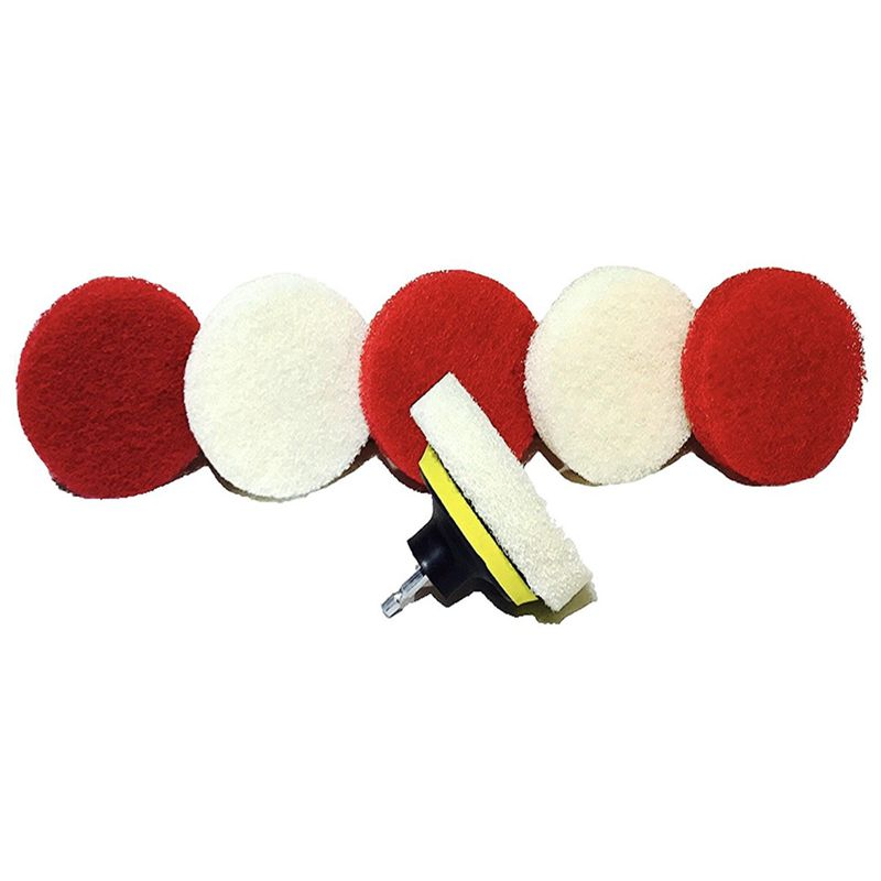 Drill-Brush-Scrub-Pad-With-Drill-Attachment-For-Tile-Sink-Water-O4K5