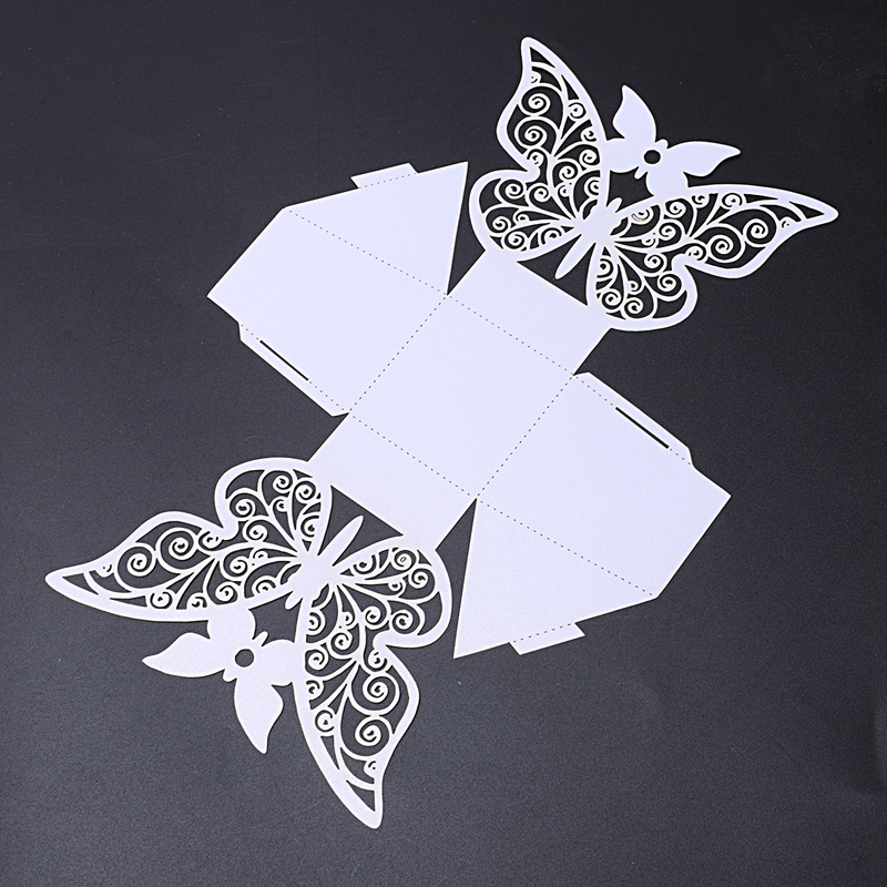 50pcs-Butterfly-Wedding-Favour-Box-Birthday-Party-Gifts-Candy-Boxes-Pink-J4I6 thumbnail 17