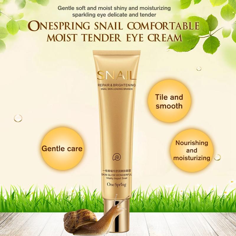 One-Spring-Snail-Essence-Repair-Eye-Serum-Whitening-Moisturizing-Anti-Aging-S3Z8 thumbnail 2