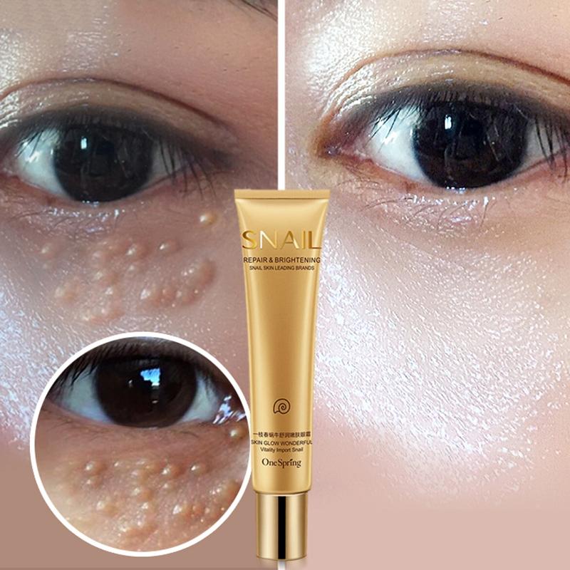 One-Spring-Snail-Essence-Repair-Eye-Serum-Whitening-Moisturizing-Anti-Aging-S3Z8 thumbnail 3