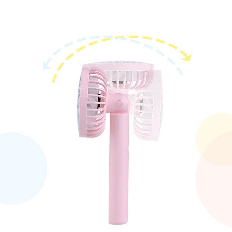 Bunte-Mini-USB-Nacht-Licht-Wiederaufladbare-Luft-Ventilator-Tisch-Ventilato-V1U8 Indexbild 4