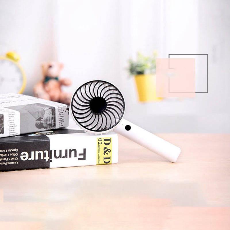 Bunte-Mini-USB-Nacht-Licht-Wiederaufladbare-Luft-Ventilator-Tisch-Ventilato-V1U8 Indexbild 9