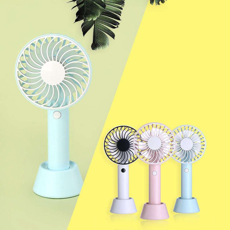 Bunte-Mini-USB-Nacht-Licht-Wiederaufladbare-Luft-Ventilator-Tisch-Ventilato-V1U8 Indexbild 10