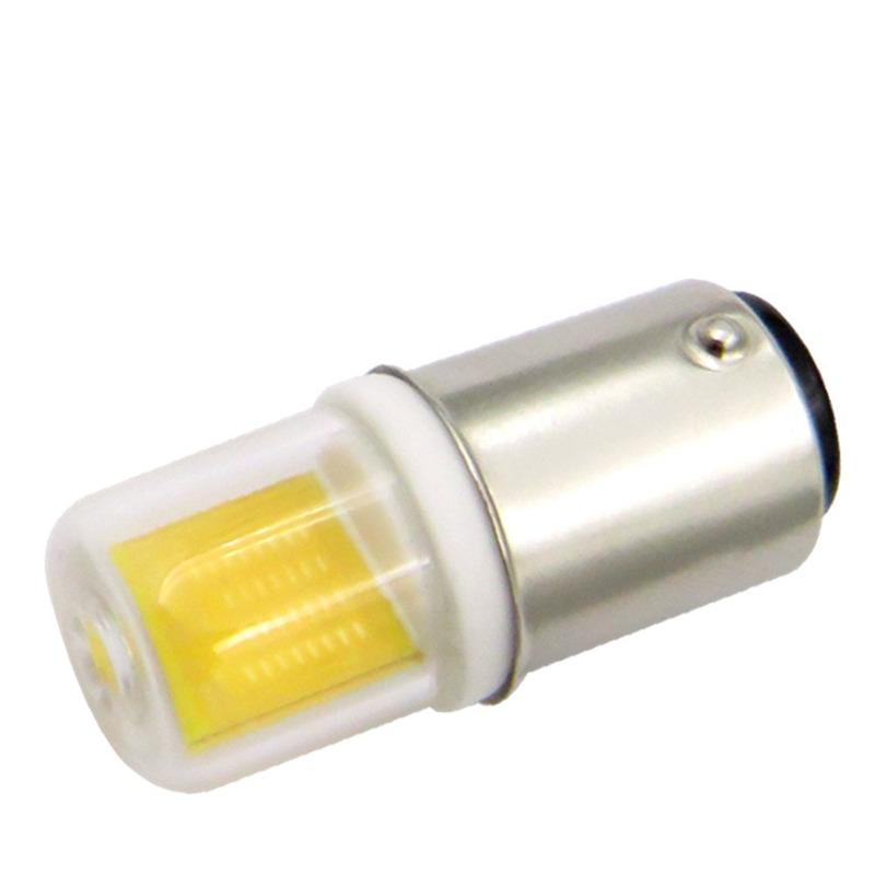 BA15D-Led-Light-Bulb-3W-110V-220V-AC-Non-Dimming-300-Lumens-COB-1511-Led-Lam-6Q8 thumbnail 5
