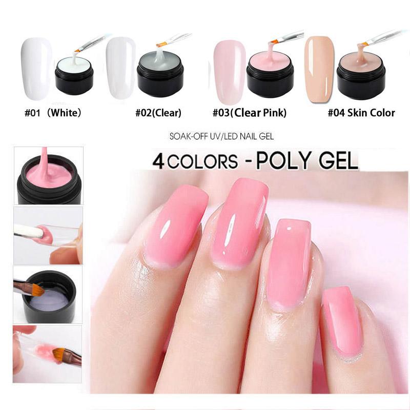 2X-Douborq-Uv-Builder-Gel-Crystal-Nails-Transparent-Uv-Gel-For-French-Art-T-U1M9 thumbnail 7