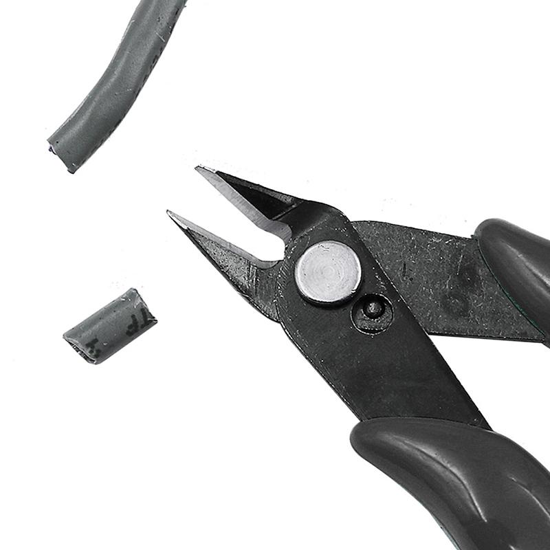 Alicates-Diagonales-Mini-Cortador-de-Alambre-de-3-5-Pulgadas-Pequeno-Corte-Z8G9 miniatura 10