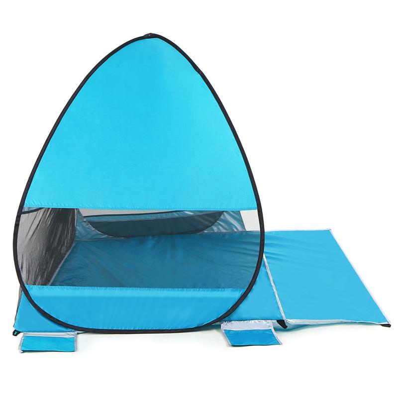 Tente-De-Plage-Automatique-Cabane-Portable-Upf-50-Abri-Soleil-Auvent-De-PEC-8Z5 miniature 14
