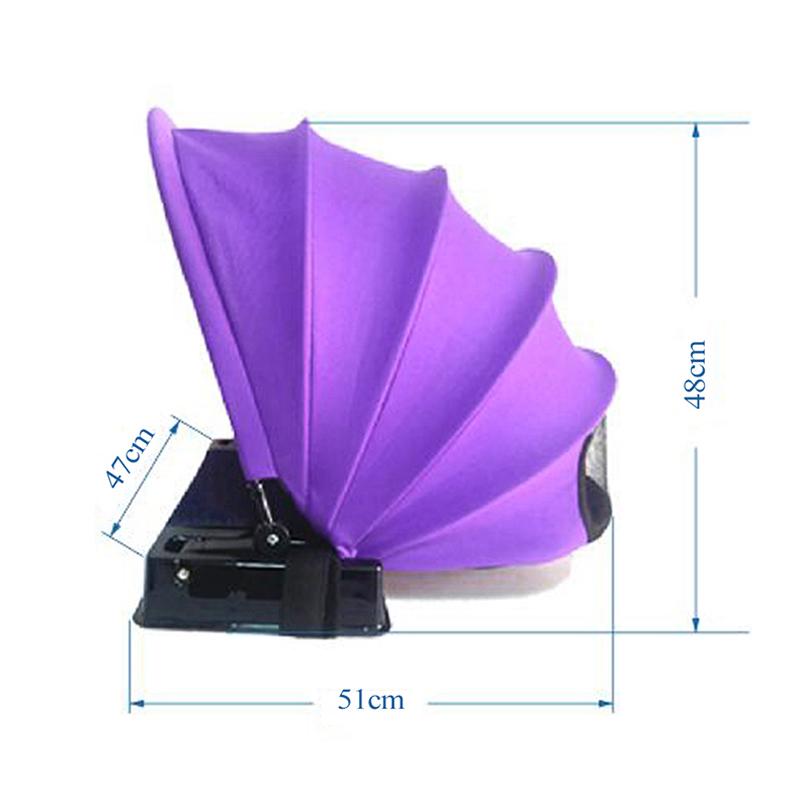 Portable-Foldable-Sunshade-Quick-Automatic-Opening-Single-Tent-Sun-Protecti-D7K9 thumbnail 11
