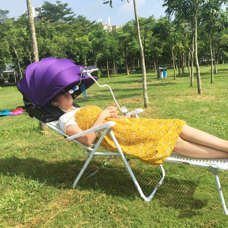 Portable-Foldable-Sunshade-Quick-Automatic-Opening-Single-Tent-Sun-Protecti-D7K9 thumbnail 13