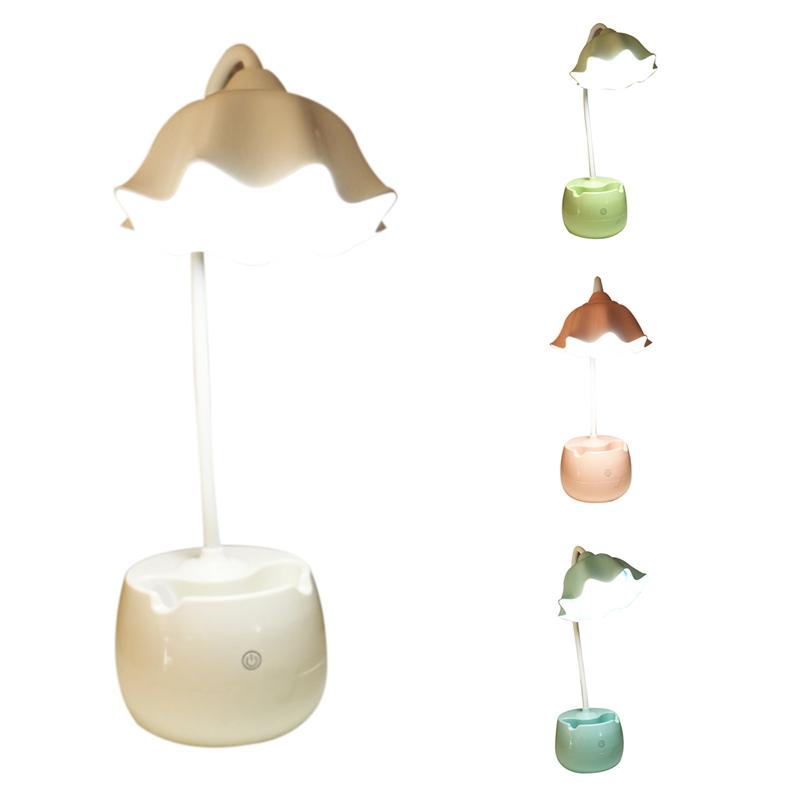 Lampes Diq2l9 Lampe Table Led À Lotus Sur Pour Avec Détails De Bureau 2x lampe ON80wmvn