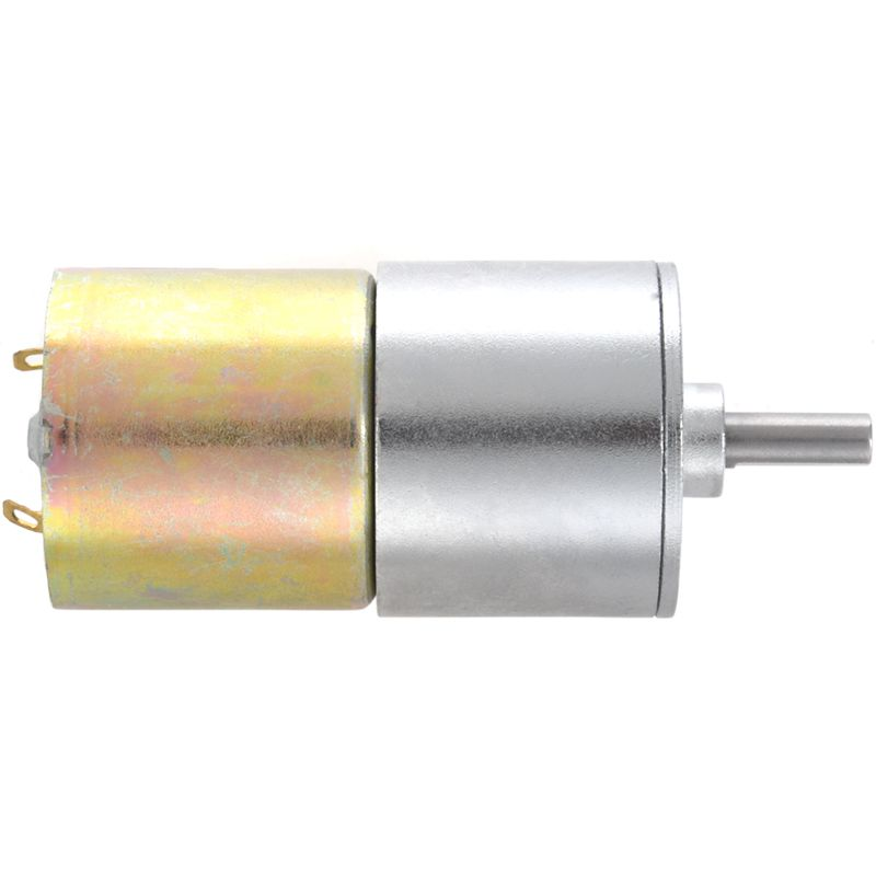 ZGB37RG Cylinder Shape DC 12V Speed 30 RPM DC Geared Motor
