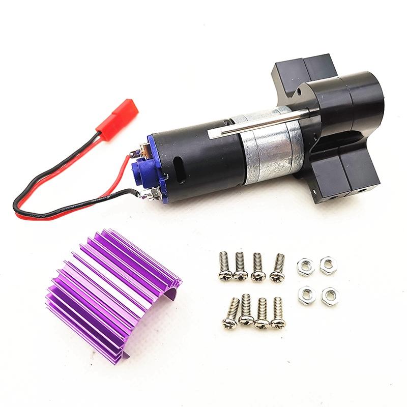 1X-Verbessertes-Metall-Getriebe-Ubertragen-Box-mit-370-Motor-fuer-Wpl-1-16-4-I9U4 Indexbild 3