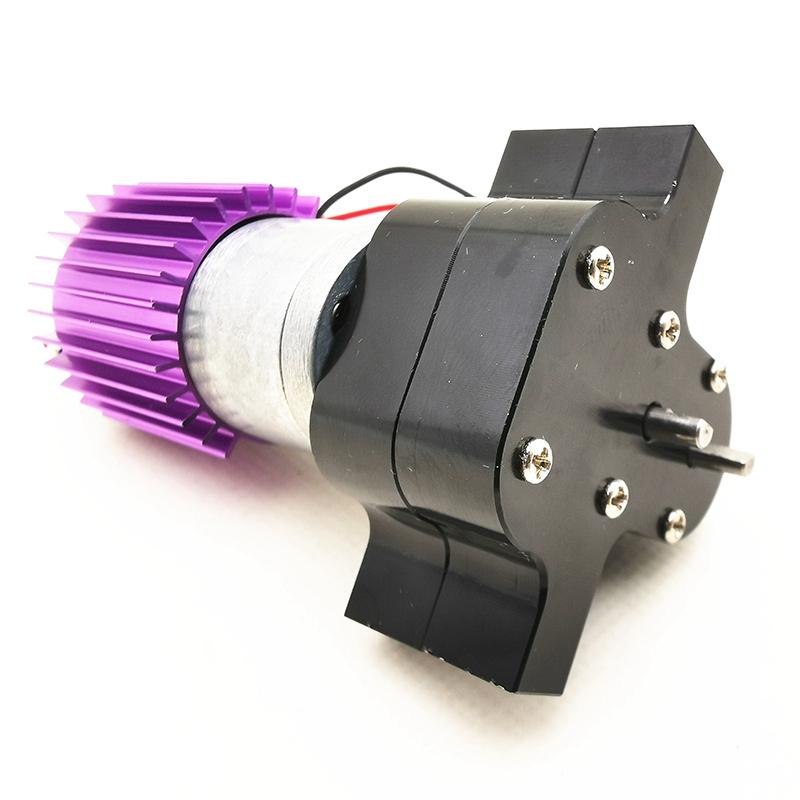 1X-Verbessertes-Metall-Getriebe-Ubertragen-Box-mit-370-Motor-fuer-Wpl-1-16-4-I9U4 Indexbild 5