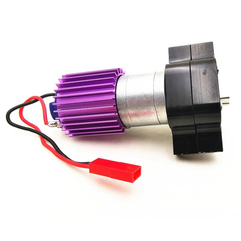 1X-Verbessertes-Metall-Getriebe-Ubertragen-Box-mit-370-Motor-fuer-Wpl-1-16-4-I9U4 Indexbild 7