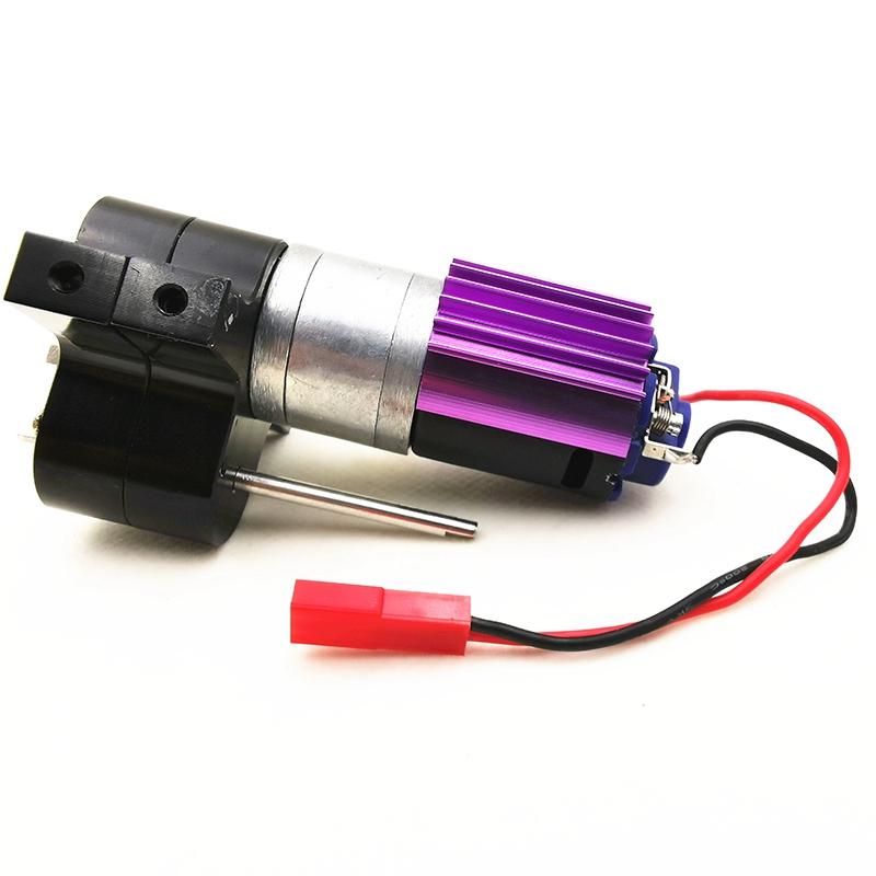 1X-Verbessertes-Metall-Getriebe-Ubertragen-Box-mit-370-Motor-fuer-Wpl-1-16-4-I9U4 Indexbild 9