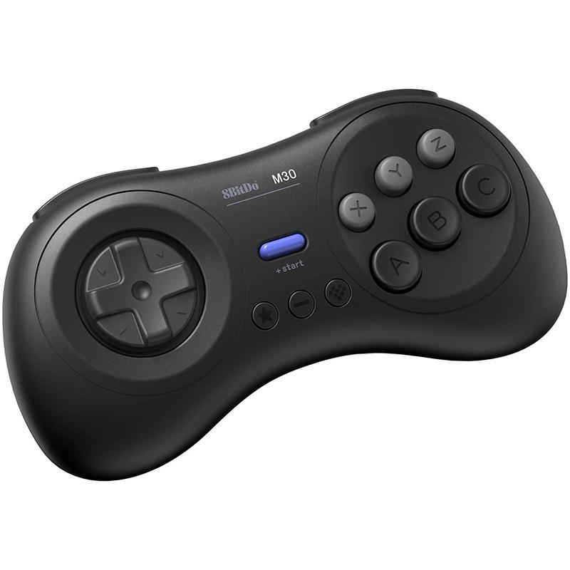 8Bitdo-M30-Game-Controller-Gamepad-For-Sega-Genesis-And-Sega-Mega-Drive-Bla-Z2M1 thumbnail 3
