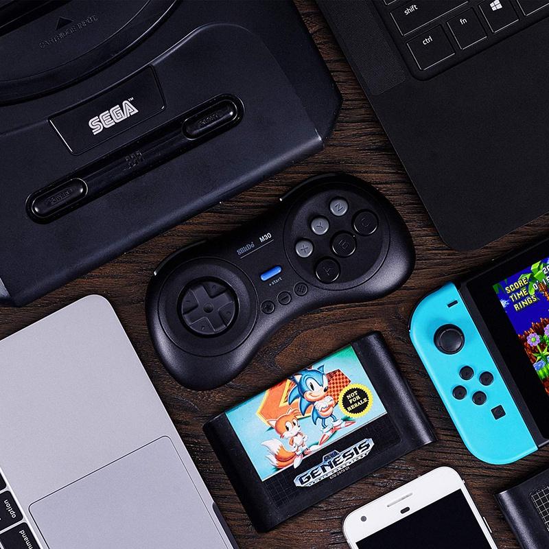 8Bitdo-M30-Game-Controller-Gamepad-For-Sega-Genesis-And-Sega-Mega-Drive-Bla-Z2M1 thumbnail 9