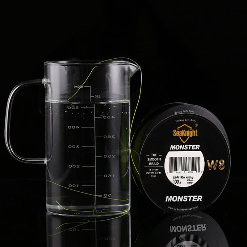 Seaknight-Monster-W8-150M-Fishing-Line-Braid-8-Strands-Smooth-Super-Line-Pe-X6U8 thumbnail 10
