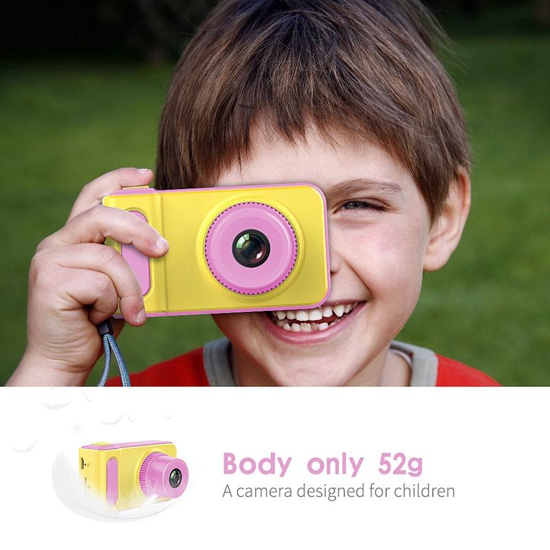 K7 Mini Cámara Digital Para Niños de 2 Pulgadas Pantalla Hd Anti Vibración  B1Y1