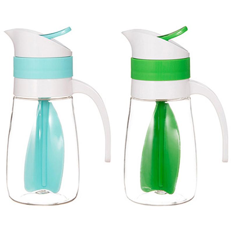 2X-Creative-Salad-Juice-Manual-Bottle-Fruit-Salad-Rotating-Dressing-Mixer-U1H2 thumbnail 3