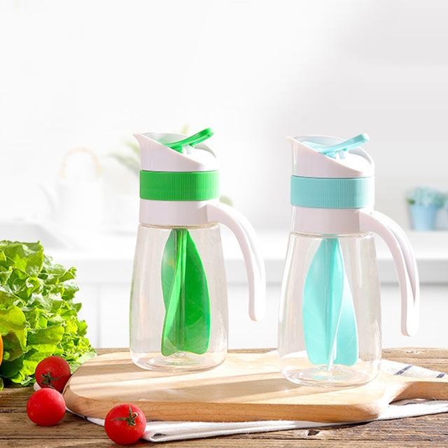 2X-Creative-Salad-Juice-Manual-Bottle-Fruit-Salad-Rotating-Dressing-Mixer-U1H2 thumbnail 4