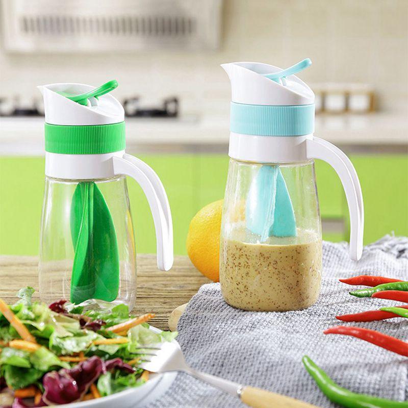 2X-Creative-Salad-Juice-Manual-Bottle-Fruit-Salad-Rotating-Dressing-Mixer-U1H2 thumbnail 5