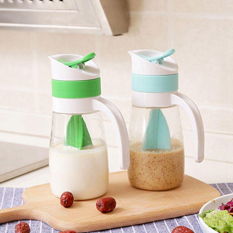 2X-Creative-Salad-Juice-Manual-Bottle-Fruit-Salad-Rotating-Dressing-Mixer-U1H2 thumbnail 6
