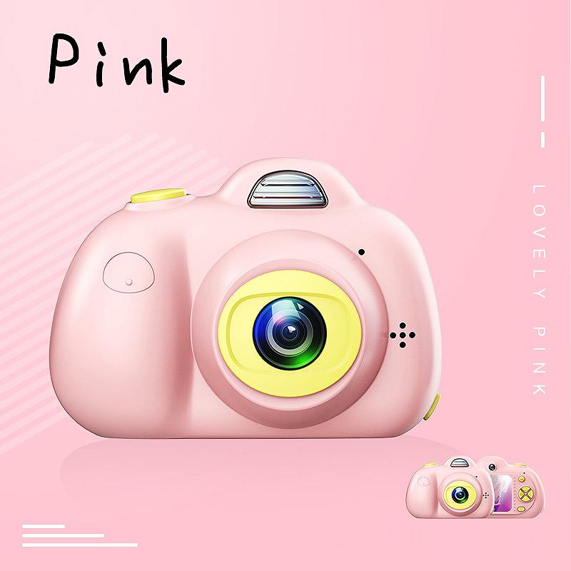 Camera-Numerique-Mignons-Pour-Enfant-Mini-Camera-Double-Lentille-Hd-1080P-C-E5S3 miniature 6