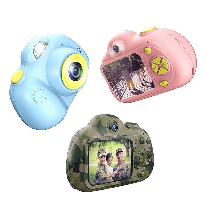 Camera-Numerique-Mignons-Pour-Enfant-Mini-Camera-Double-Lentille-Hd-1080P-C-E5S3 miniature 9