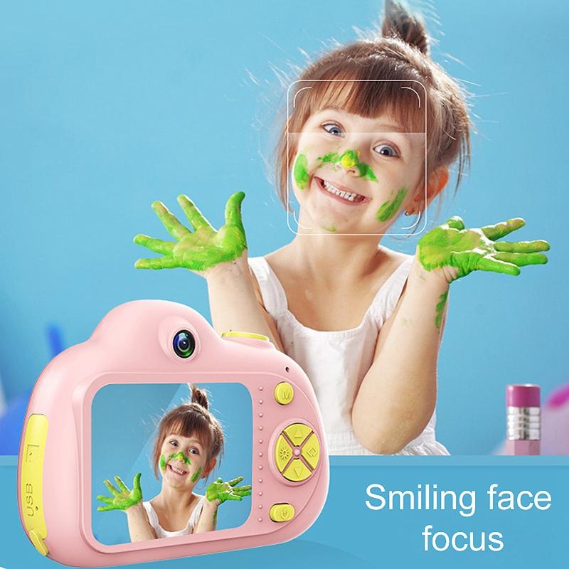 Camera-Numerique-Mignons-Pour-Enfant-Mini-Camera-Double-Lentille-Hd-1080P-C-E5S3 miniature 14