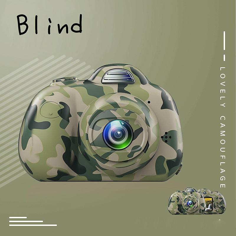 Camera-Numerique-Mignons-Pour-Enfant-Mini-Camera-Double-Lentille-Hd-1080P-C-E5S3 miniature 17