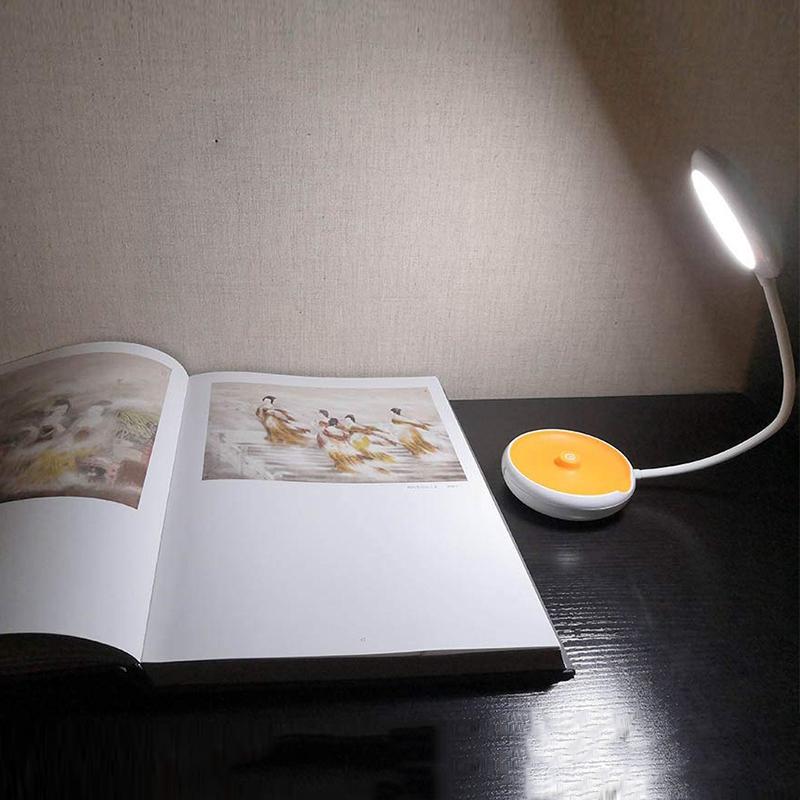1X-Bett-Lese-Lampe-Schwanenhals-Schreibtisch-Lampe-Batterie-Betrieben-Pre-R5S6 Indexbild 3