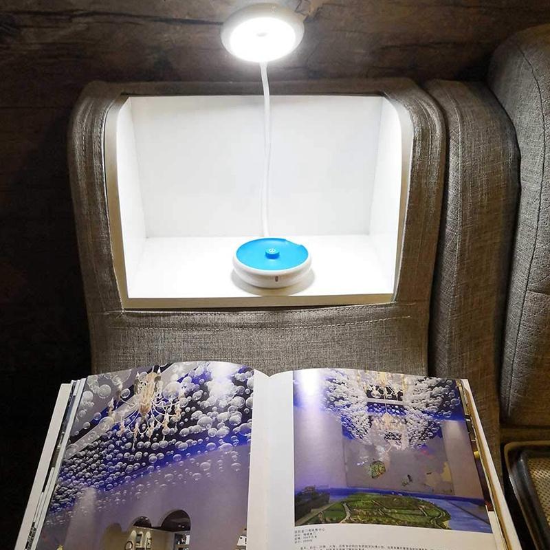 1X-Bett-Lese-Lampe-Schwanenhals-Schreibtisch-Lampe-Batterie-Betrieben-Pre-R5S6 Indexbild 11