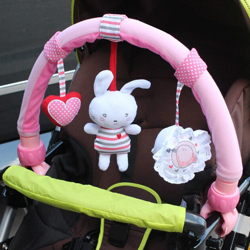 Baby-Stroller-Bed-Crib-Hanging-Toys-For-Tots-Cots-Rattles-Seat-Cute-Plush-S-M3B6 thumbnail 3